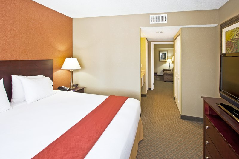 Holiday Inn Express Clearwater East - Icot Center-Spacious suites with sleeper sofa bed and seperate bedroom<br/>Image from Leonardo