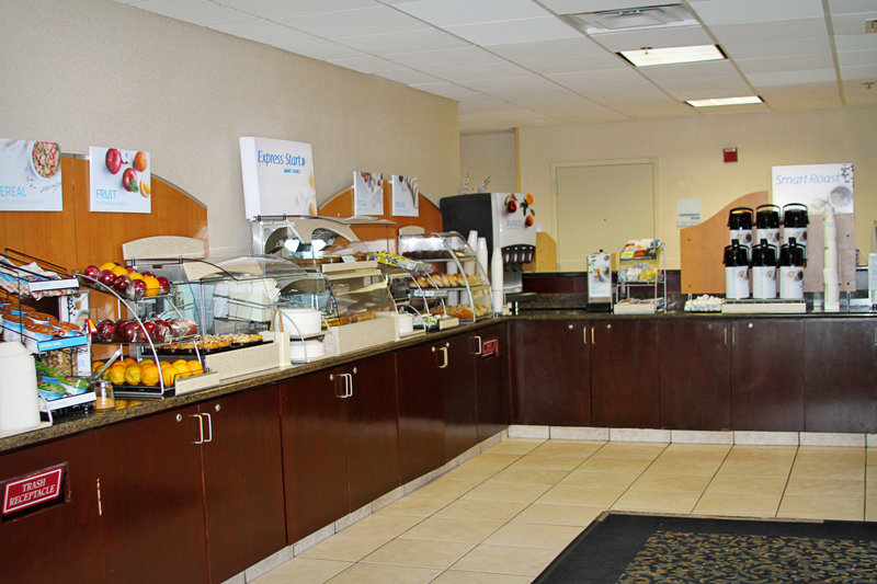 Holiday Inn Express & Suites Tampa/Rocky Point Island-Hot and Cold Items are always on our breakfast bar. <br/>Image from Leonardo