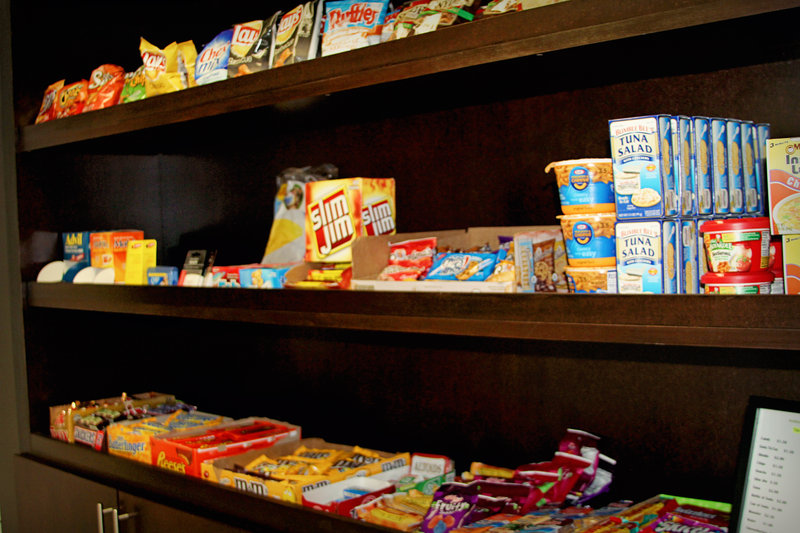 Holiday Inn Express & Suites Tampa/Rocky Point Island-Sundry Shop with everything you shall need to snack on<br/>Image from Leonardo