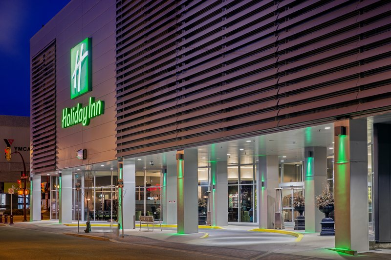 Holiday Inn Saskatoon Downtown-Holiday Inn Saskatoon Downtown  Front Entrance<br/>Image from Leonardo