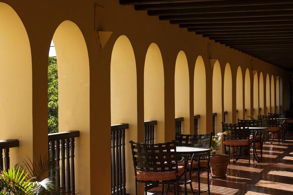 Hotel El Convento - Hallway <br/>Image from Leonardo