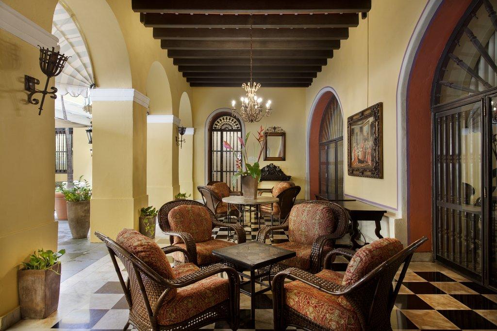 Hotel El Convento - Hotel Lobby <br/>Image from Leonardo