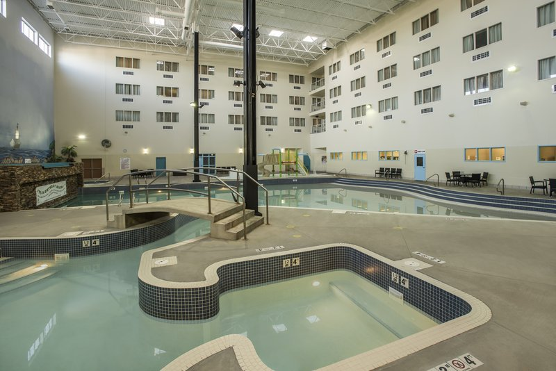 Holiday Inn Lethbridge-Mariners Cove Waterpark. Kids and adults alike will have a blast<br/>Image from Leonardo