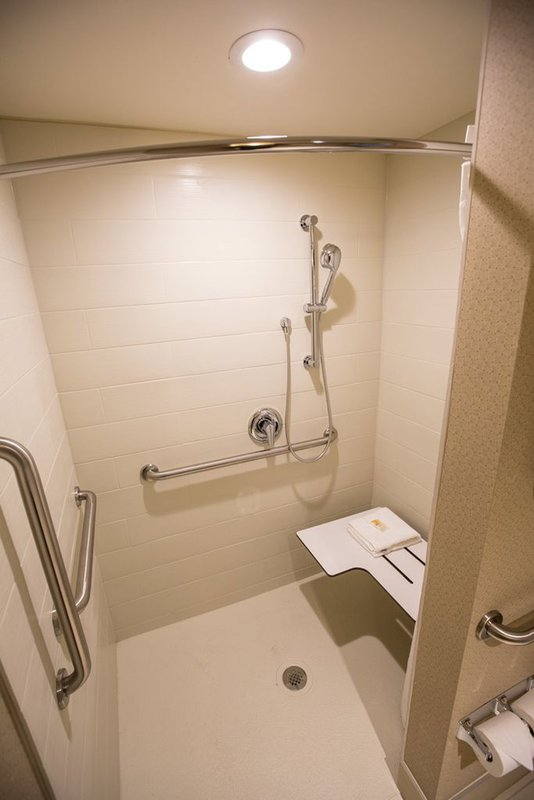 Holiday Inn Charleston Historic Downtown-Roll-In Shower Guest Bathroom<br/>Image from Leonardo