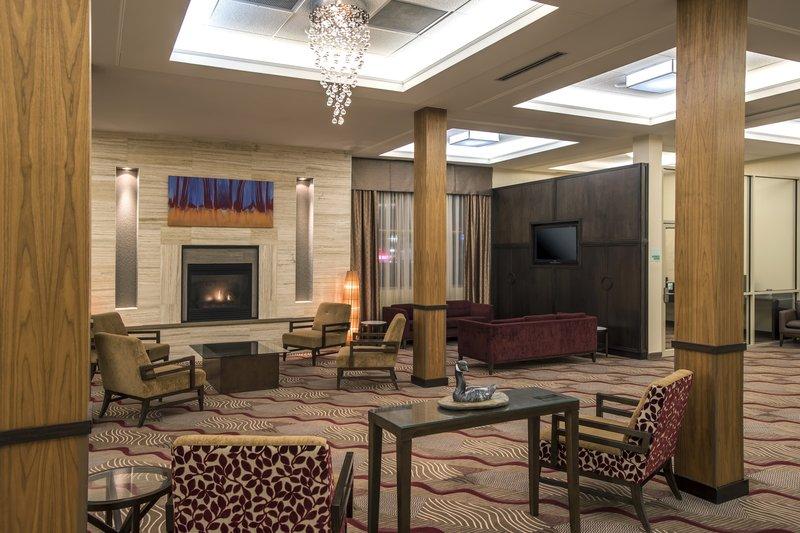 Holiday Inn Lethbridge-Holiday Inn Lethbridge hotel lobby meeting point<br/>Image from Leonardo