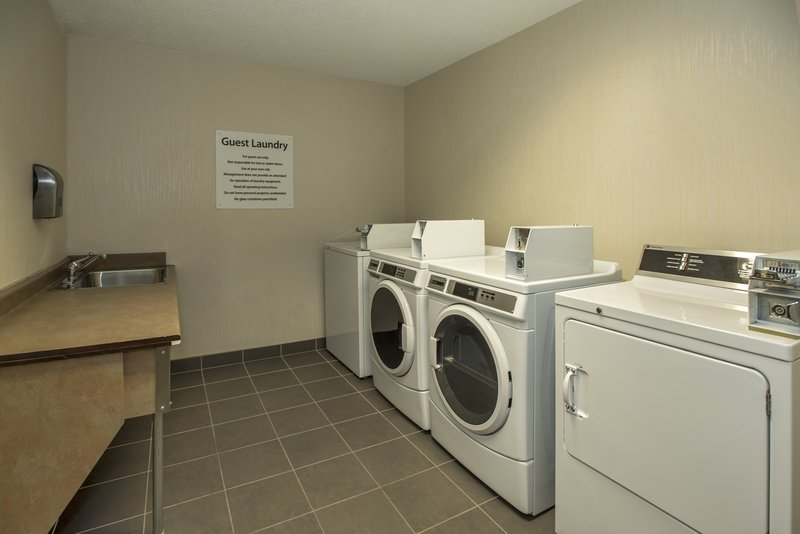Holiday Inn Lethbridge-Coin operated guest laundry facility for your convenience<br/>Image from Leonardo