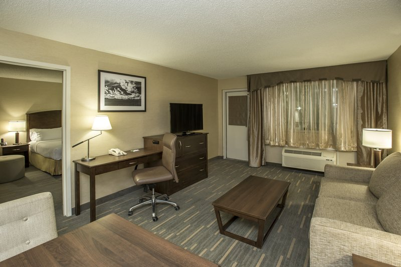 Holiday Inn Lethbridge-Living room with sofabed<br/>Image from Leonardo
