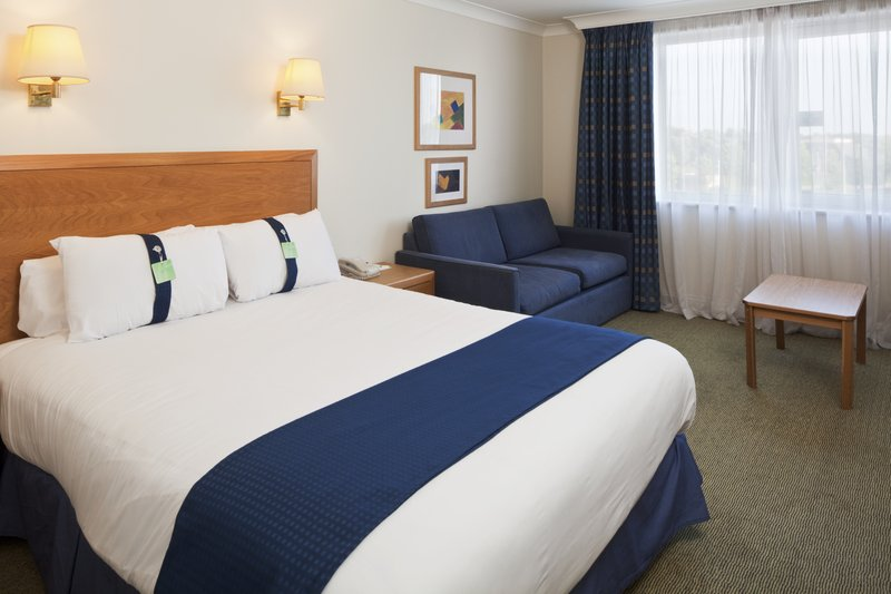 Holiday Inn Basildon-Double room with sofa bed situated at the front of the hotel<br/>Image from Leonardo