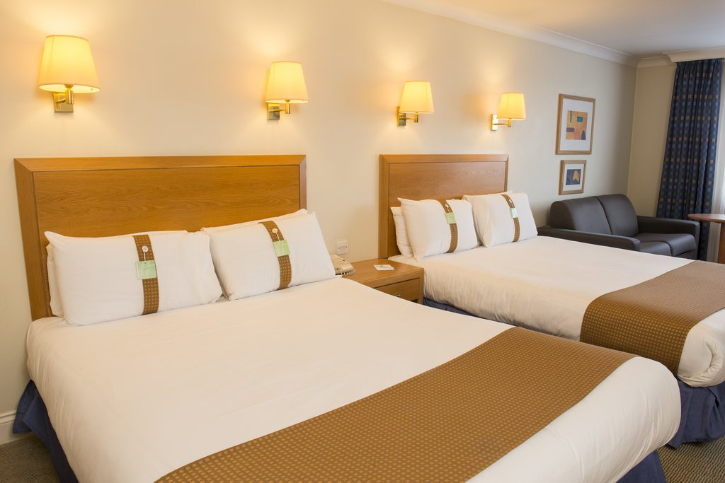 Holiday Inn Basildon-Two double beds and a sofa bed<br/>Image from Leonardo