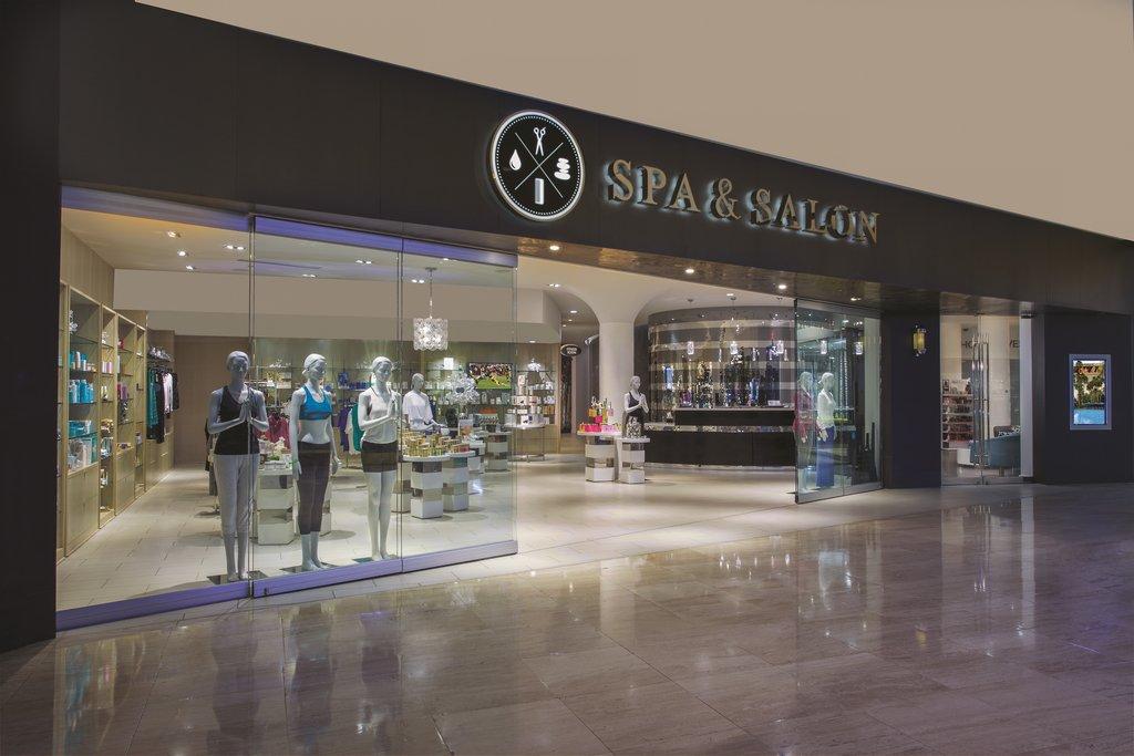 The Mirage Hotel and Casino - Spa & Salon Front <br/>Image from Leonardo