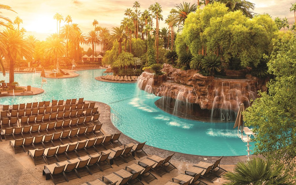 The Mirage Hotel and Casino - Mirage Pool <br/>Image from Leonardo