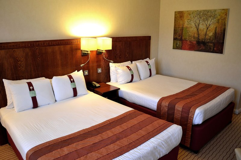 Holiday Inn Northampton-Twin beds and they are massive double ones!<br/>Image from Leonardo