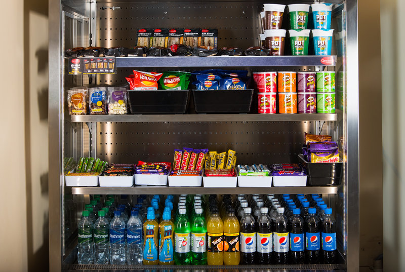 Holiday Inn Express Newcastle-Metro Centre-If you're feeling peckish, pick up a snack from the vending fridge<br/>Image from Leonardo