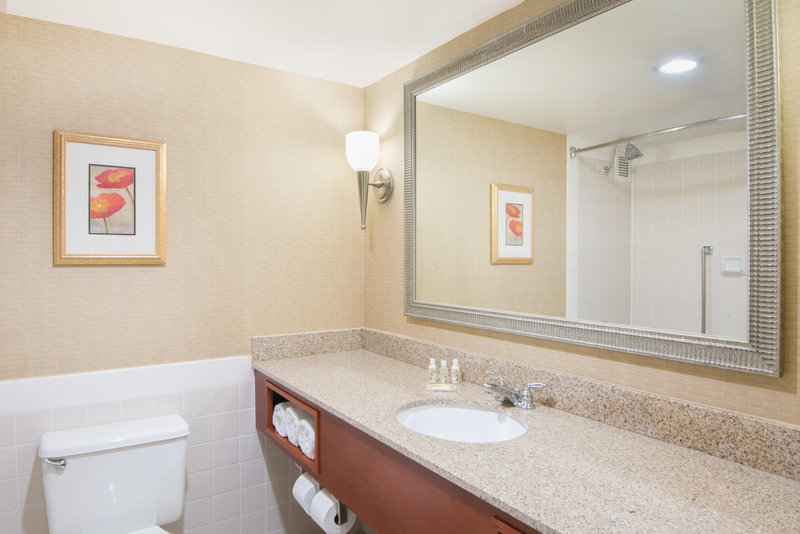 Holiday Inn Hotel & Suites Cincinnati-Eastgate (I-275e)-Our guest bathrooms have plenty of counter space to get ready.<br/>Image from Leonardo