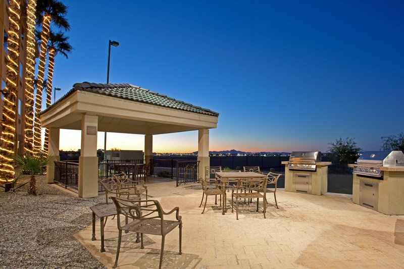 Candlewood Suites Yuma-Candlewood Suites-Yuma Guest Patio at sunset<br/>Image from Leonardo