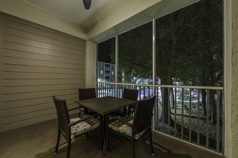 Holiday Inn Club Vacations South Beach Resort-Screened-in patio in a Signature Collection unit<br/>Image from Leonardo