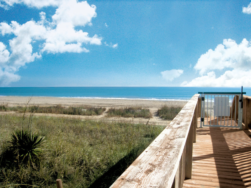 Holiday Inn Club Vacations South Beach Resort-Enjoy the convenient board-walk style path down to the beach<br/>Image from Leonardo