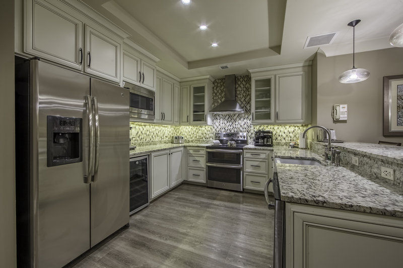 Holiday Inn Club Vacations South Beach Resort-Fully stocked kitchen in Signature Collection unit<br/>Image from Leonardo
