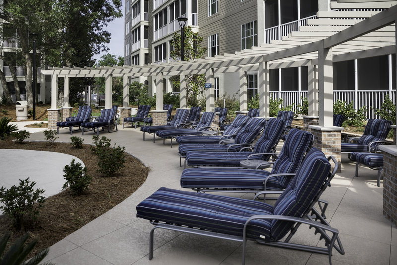 Holiday Inn Club Vacations South Beach Resort-Pool deck with lounge chairs<br/>Image from Leonardo