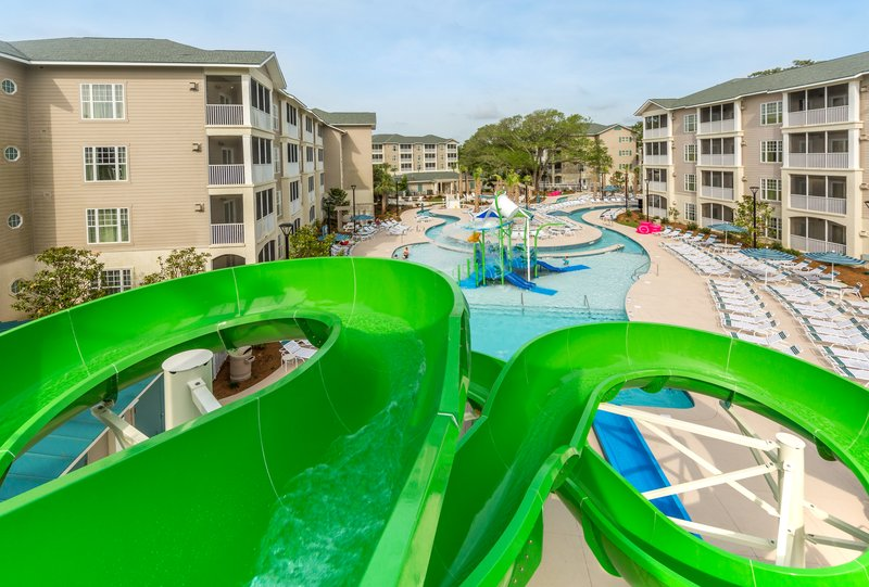 Holiday Inn Club Vacations South Beach Resort-Splash Canyon water feature<br/>Image from Leonardo