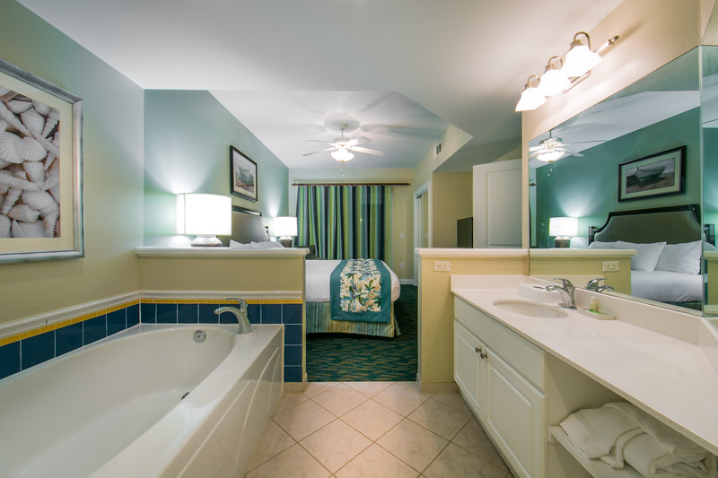 Holiday Inn Club Vacations South Beach Resort-Relax in the separate tub in the master bedroom of a 2-bedroom<br/>Image from Leonardo
