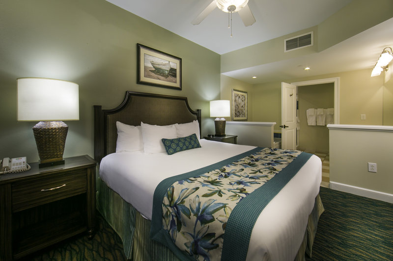 Holiday Inn Club Vacations South Beach Resort-Beautiful master bedroom with king size bed, TV and private bath<br/>Image from Leonardo