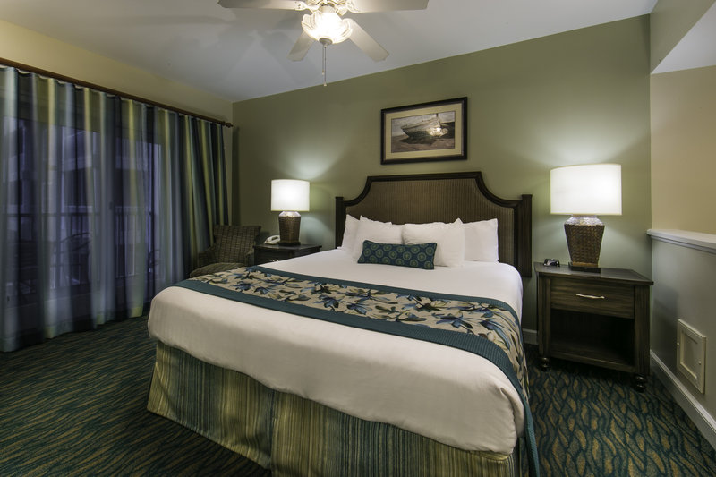 Holiday Inn Club Vacations South Beach Resort-Master bedroom with king size bed and private bathroom<br/>Image from Leonardo