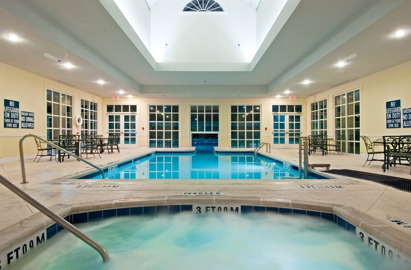 Holiday Inn Club Vacations South Beach Resort-Guests can relax in the hot tub or swim indoors all year long<br/>Image from Leonardo