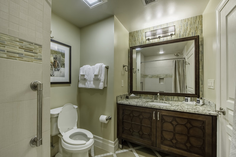 Holiday Inn Club Vacations South Beach Resort-Signature collection guest bathroom<br/>Image from Leonardo