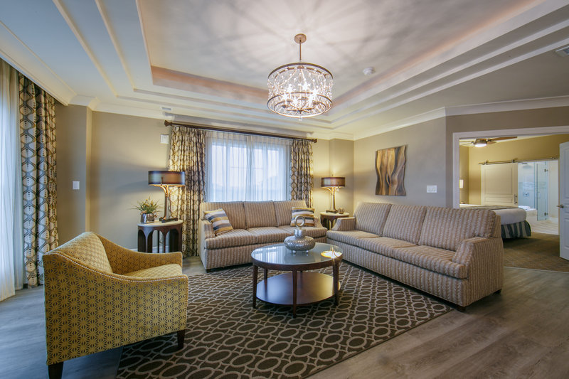 Holiday Inn Club Vacations South Beach Resort-Luxurious Signature Collection living room<br/>Image from Leonardo
