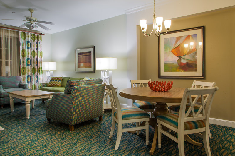 Holiday Inn Club Vacations South Beach Resort-Enjoy separate dining area and living room w/ pullout sofa and TV<br/>Image from Leonardo