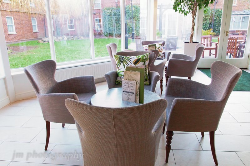 Holiday Inn Milton Keynes East M1, Jct.14-Reception <br/>Image from Leonardo
