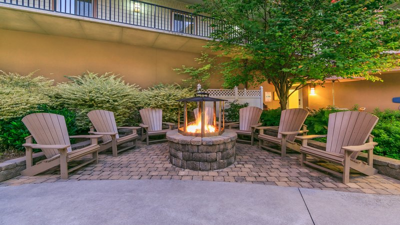 Holiday Inn Club Vacations Gatlinburg-Smoky Mountain Resort-Sit back and relax and enjoy the outdoor firepit<br/>Image from Leonardo