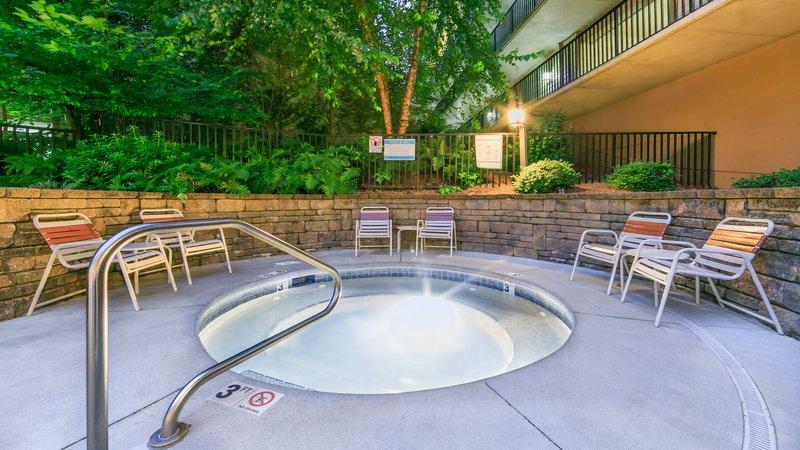 Holiday Inn Club Vacations Gatlinburg-Smoky Mountain Resort-Relax in the outdoor hot tub<br/>Image from Leonardo