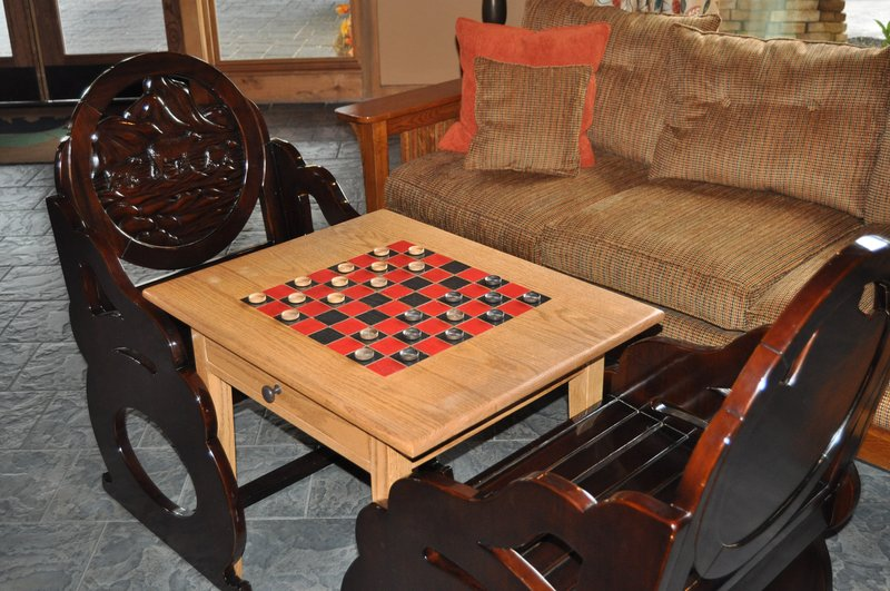 Holiday Inn Club Vacations Gatlinburg-Smoky Mountain Resort-Relax and enjoy a game of checkers<br/>Image from Leonardo