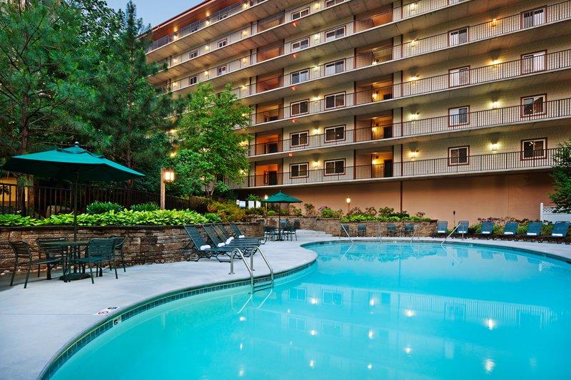 Holiday Inn Club Vacations Gatlinburg-Smoky Mountain Resort-Outdoor swimming pool for your enjoyment<br/>Image from Leonardo