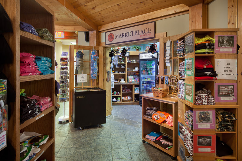 Holiday Inn Club Vacations Gatlinburg-Smoky Mountain Resort-Convenient Marketplace for treats and souvenirs<br/>Image from Leonardo