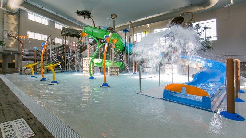 Holiday Inn Club Vacations Gatlinburg-Smoky Mountain Resort-Children can splash around and have fun in Splash Hollow<br/>Image from Leonardo