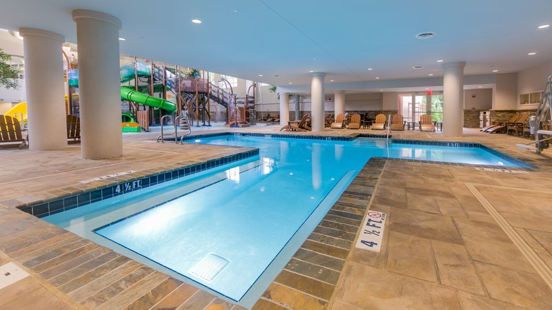 Holiday Inn Club Vacations Gatlinburg-Smoky Mountain Resort-Children can have fun all day in the indoor pool<br/>Image from Leonardo