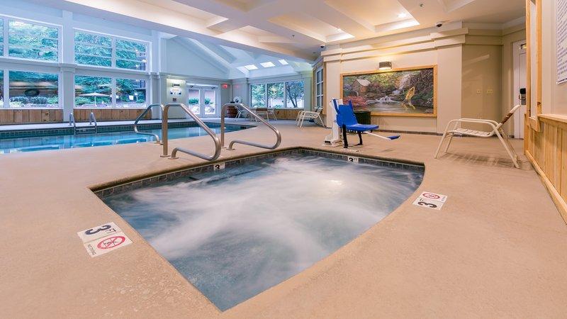 Holiday Inn Club Vacations Gatlinburg-Smoky Mountain Resort-Relax in the indoor hot tub<br/>Image from Leonardo