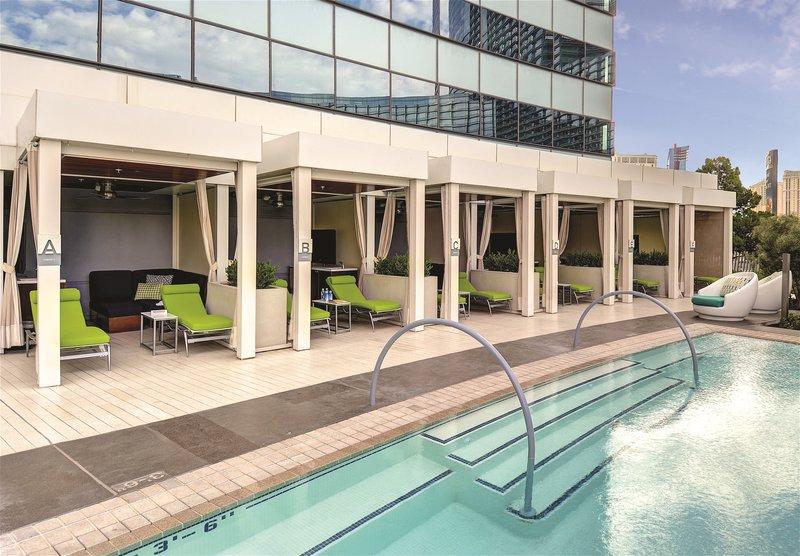 Vdara Hotel & Spa at Aria Las Vegas - Vdara Pool Cabanas <br/>Image from Leonardo