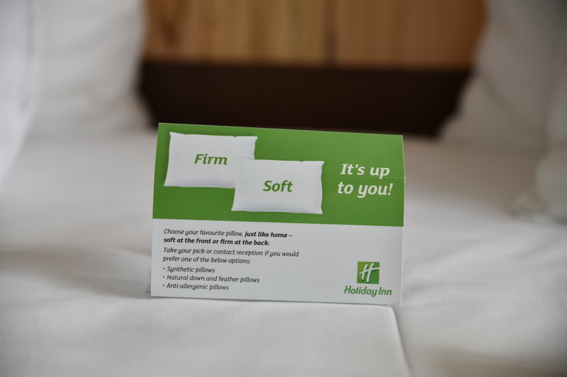 Holiday Inn Salzburg City-You want a special pillow? No problem for us!<br/>Image from Leonardo