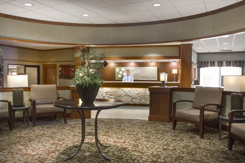Holiday Inn Hotel & Suites Des Moines-Northwest-Our Lobby is rich with welcomes, farewells and reunions!<br/>Image from Leonardo