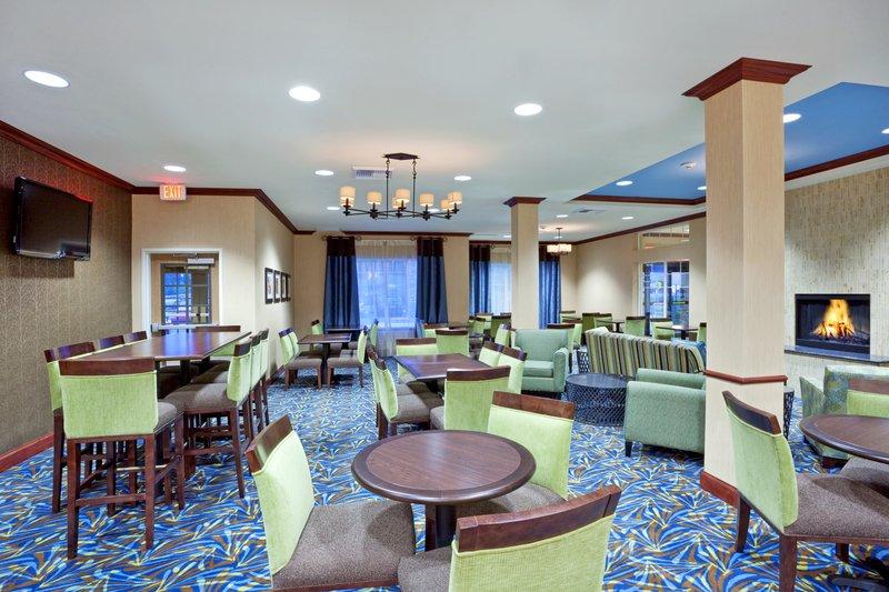 Holiday Inn Express Hotel & Suites North Sequim-Breakfast Area<br/>Image from Leonardo