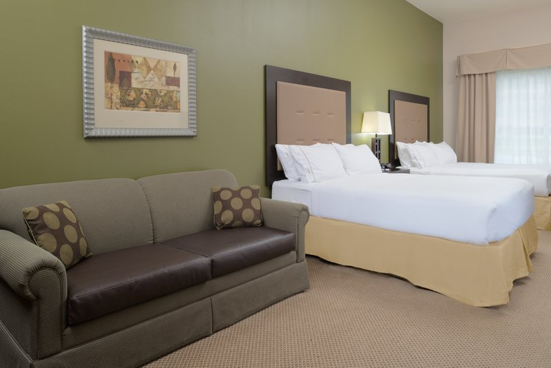 Holiday Inn Express Hotel & Suites North Sequim-ADA/Handicapped accessible Two Queen Guest Room<br/>Image from Leonardo