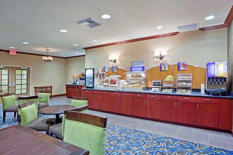 Holiday Inn Express Hotel & Suites North Sequim-Breakfast Bar<br/>Image from Leonardo