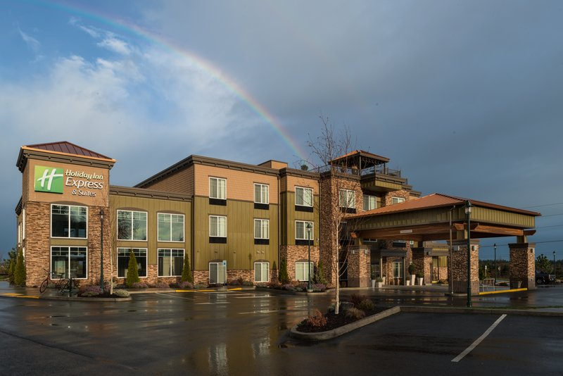 Holiday Inn Express Hotel & Suites North Sequim-Welcome to Sequim!<br/>Image from Leonardo