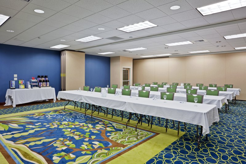 Holiday Inn Express Hotel & Suites North Sequim-Meeting Room can divide into 4 sections<br/>Image from Leonardo