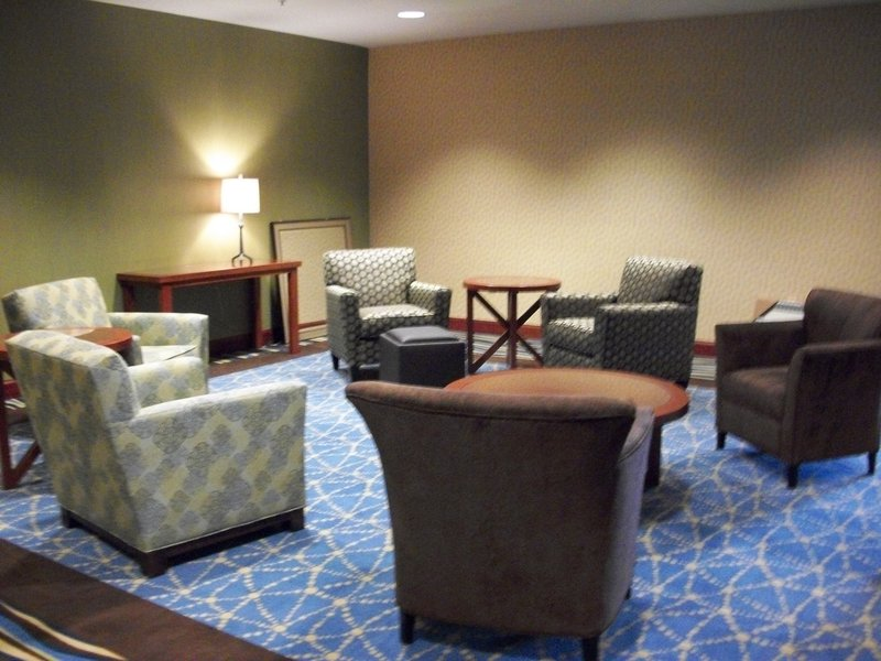 Holiday Inn Express Hotel & Suites North Sequim-Pre-function Area for sequim conference center<br/>Image from Leonardo