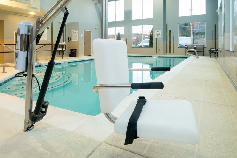 Holiday Inn Express Hotel & Suites North Sequim-ADA/Handicapped accessible Swimming Pool lift<br/>Image from Leonardo